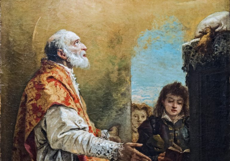 St. Philip Neri by Giandomenico Tiepolo