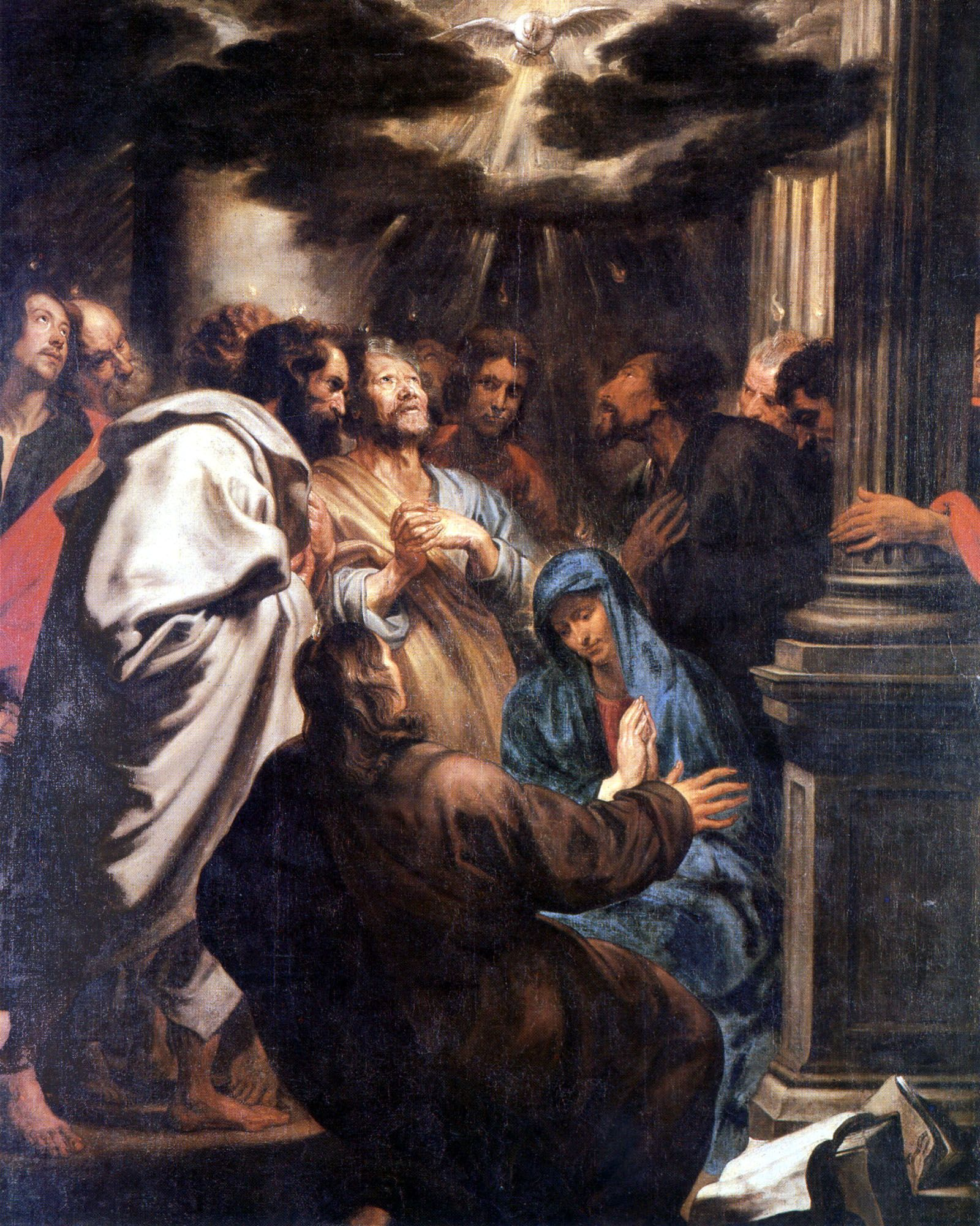 The Descent of the Holy Spirit - Anthony Van Dyck