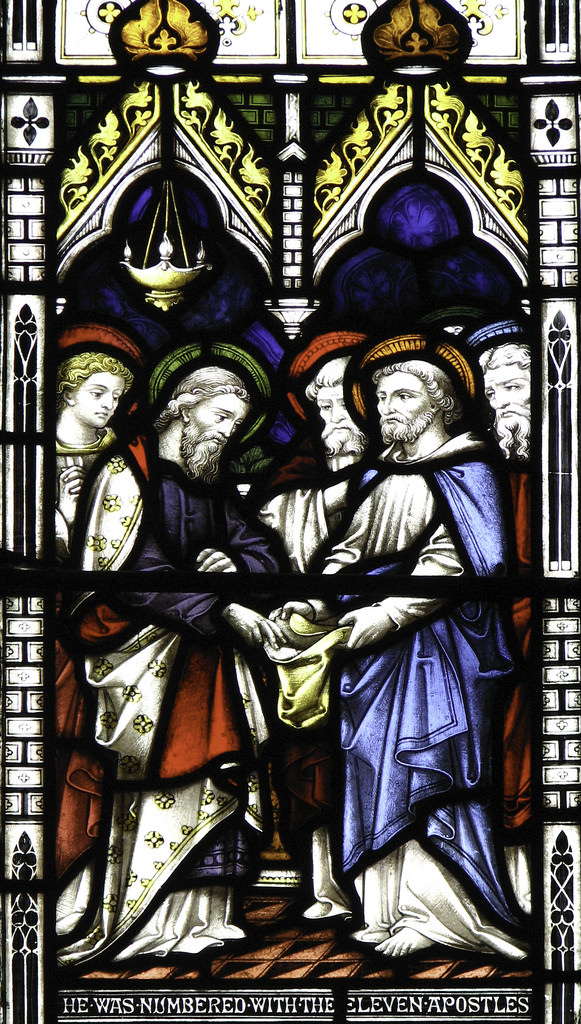 the election of st matthias.2
