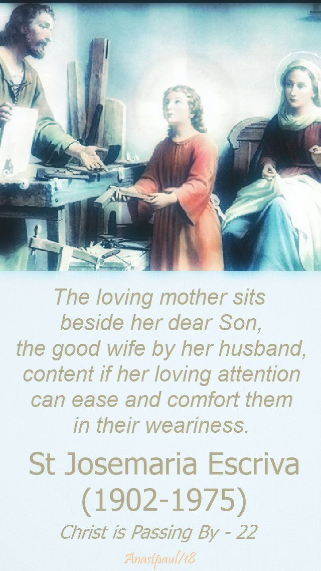 the loving mother - st josemaria - 4 may 2018.jpg