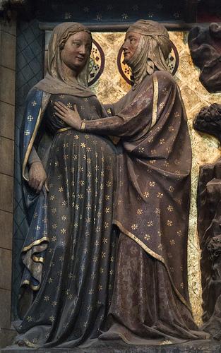 visitation 3-statue