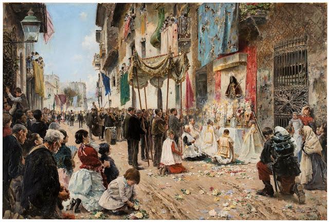 1887_Arcadio Mas y Fondevila_Corpus Christi_Spanish, 1887_Madrid, Museo Nacional del Prado