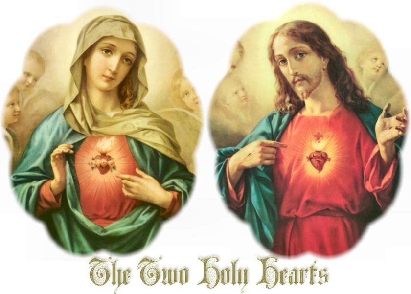 2 holy hearts
