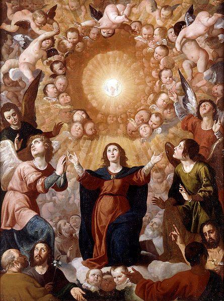 5 - Adoration of the Eucharist, by Jeronimo Jacinto Espinosa, 1650