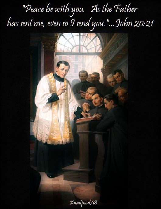 as the father has sent me - john 20-21 - st joseph cafasso - 23 june 2018