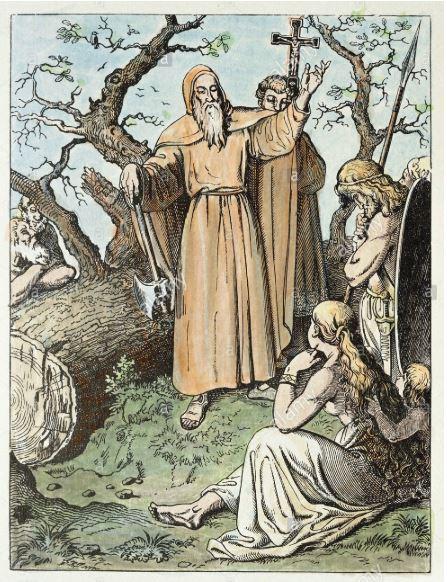 boniface and the tree