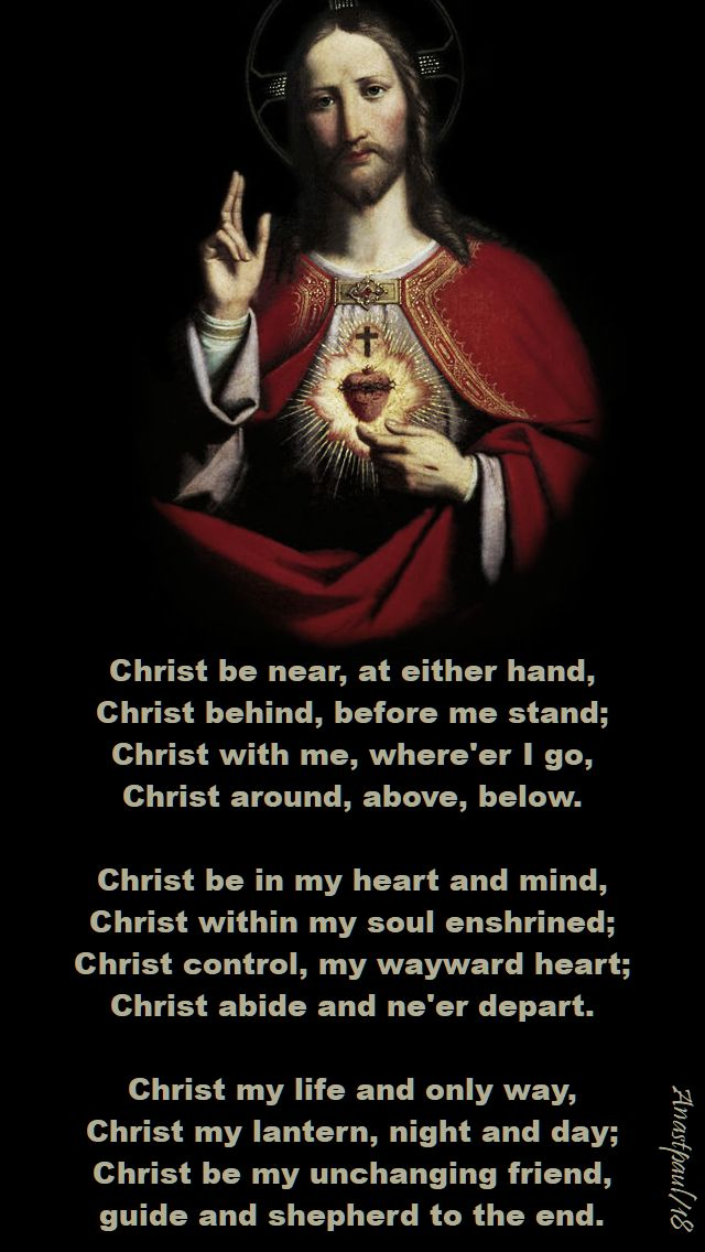 christ be near at either hand - 4 june 2018