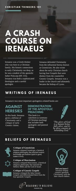 crash course irenaeus