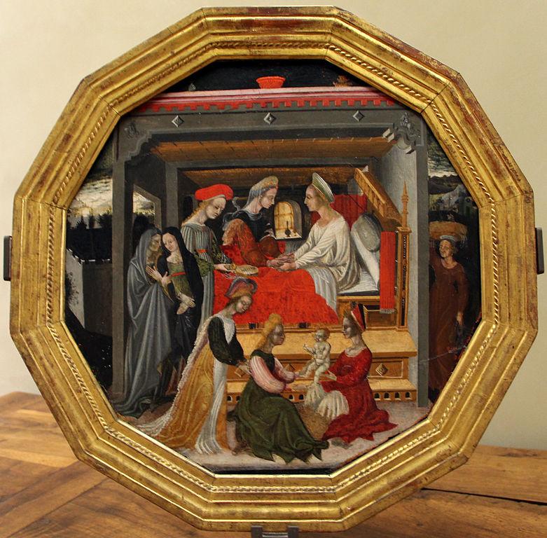 Domenico_di_bartolo,_desco_da_nozze_con_nascita_del_battista,_1420-40_ca._(siena)_01