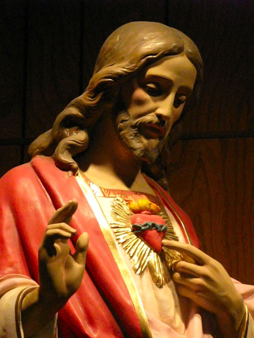 header - Sacred Heart of Jesus in you I trust