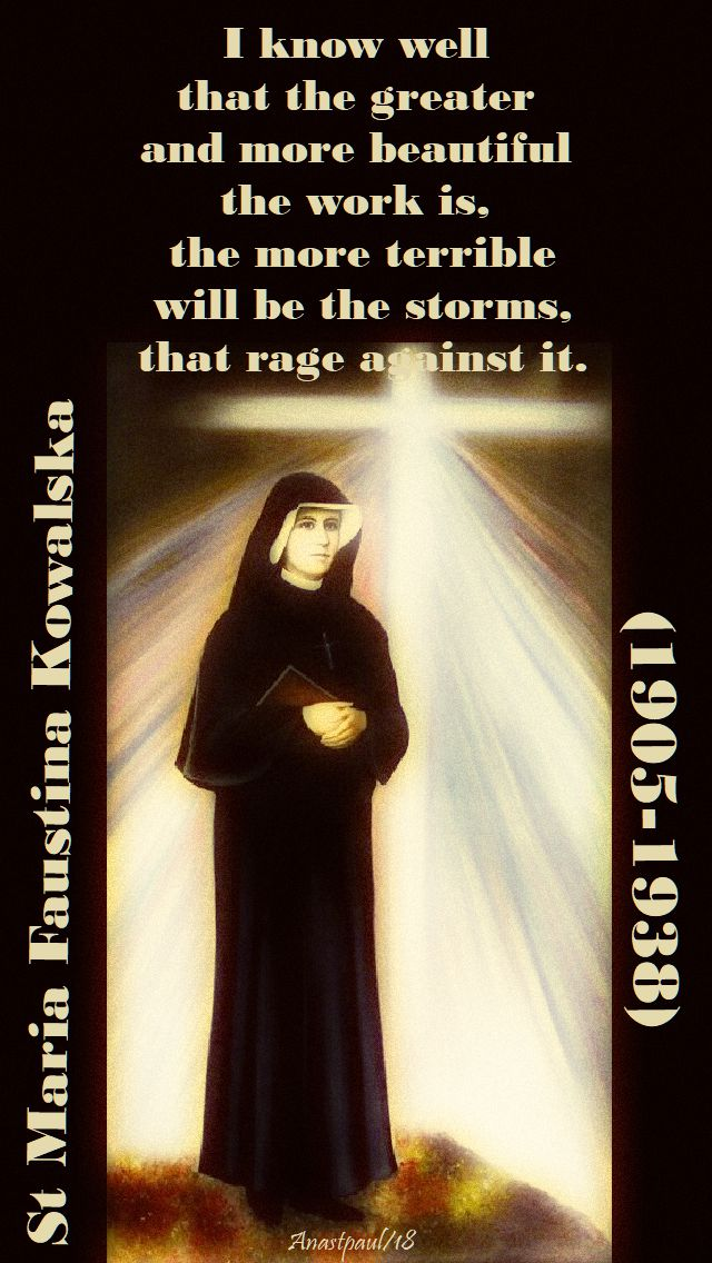 i know ell - st faustina - 11 june 2018 - seeking sainthood