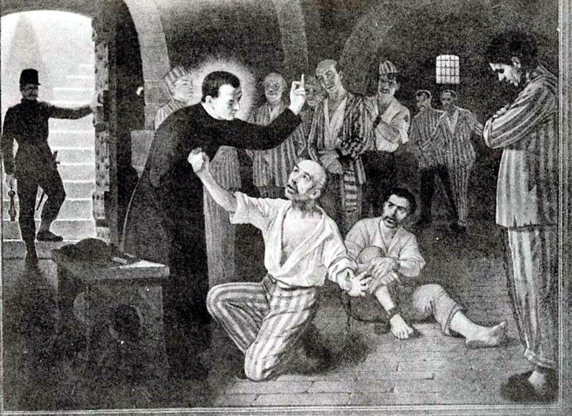 joseph with prisoners