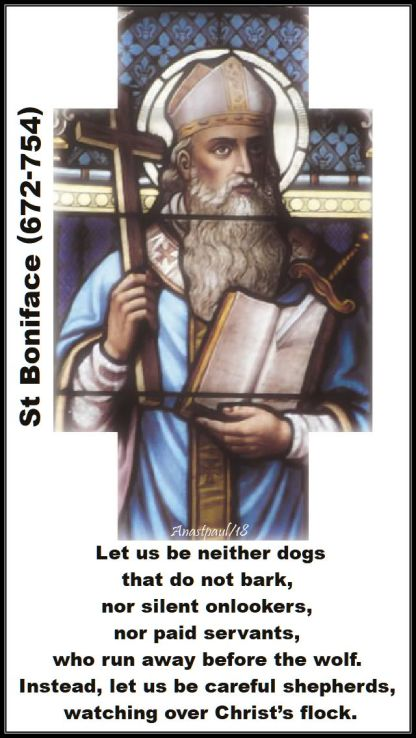 let us be neither dogs - st boniface - 5 june 2018