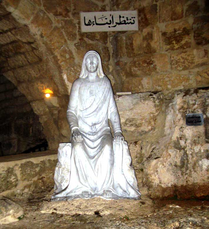 our lady of mantara at the cave