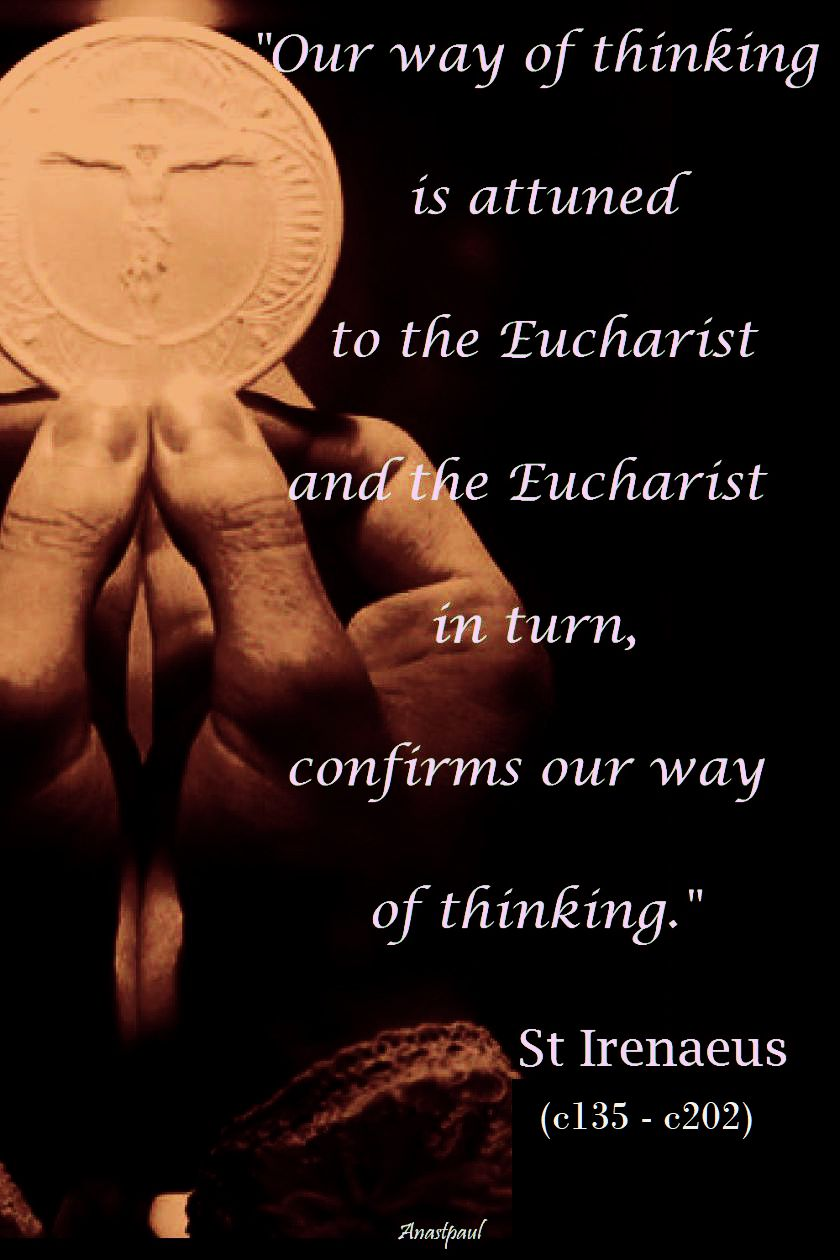 our-way-of-thinking-st-irenaeus-28 june 2018