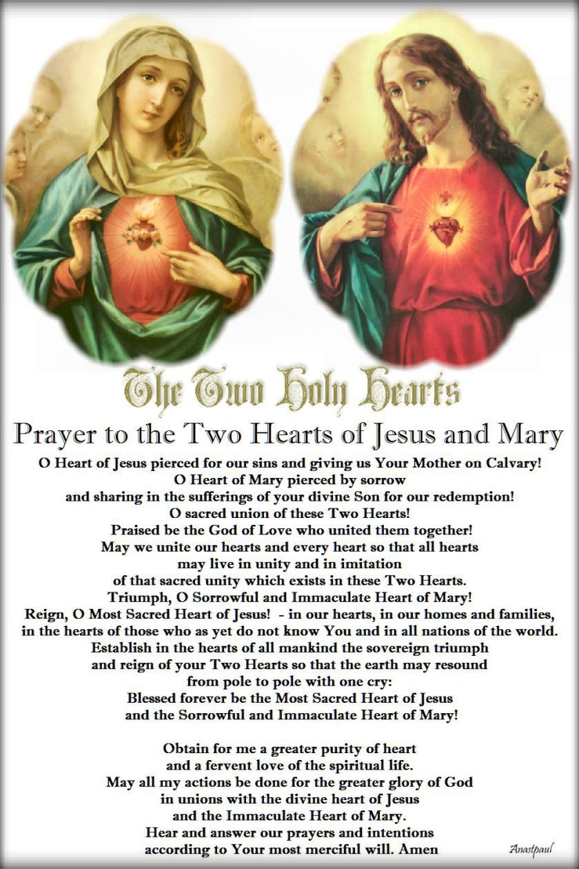 prayer-to-the-two-hearts-of-jesus-and-mary.24 june 2017