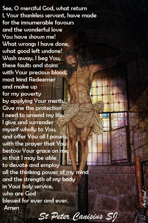 see o merciful god - prayer of st peter canisius - 16 dec 2017