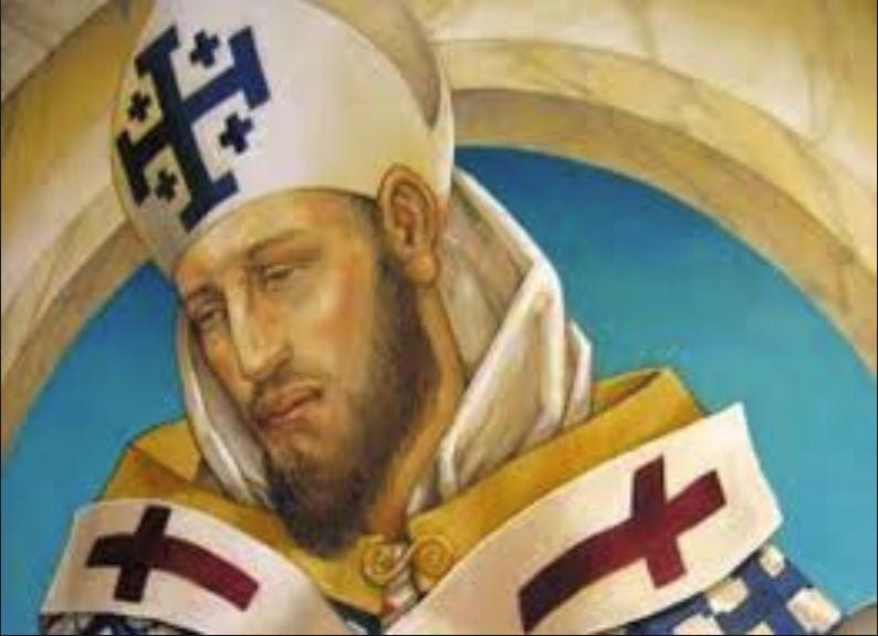 st cyril of alexandria - detail