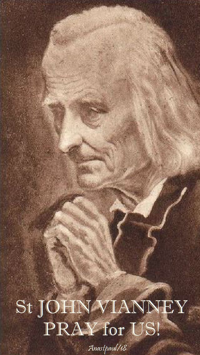 st john vianney pray for us - 20 june 2018