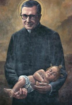 st josemaria and baby jesus