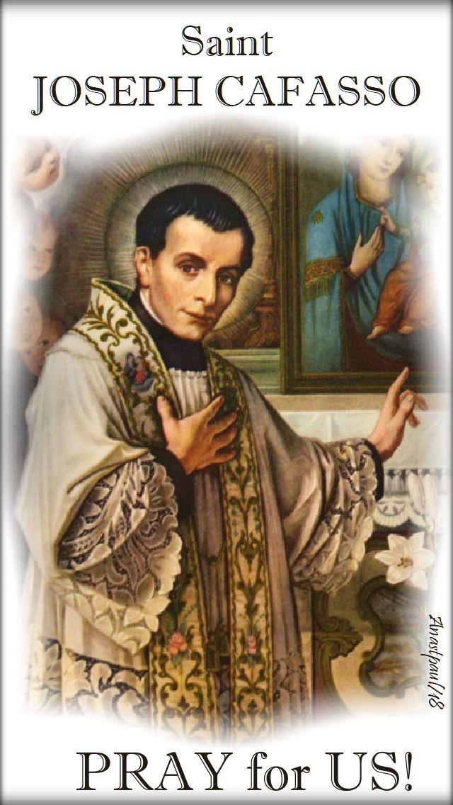 st joseph cafasso pray for us - 23 june 2018