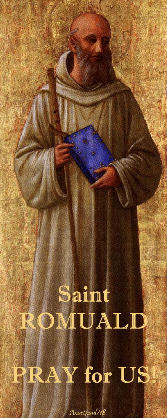 st romuald - pray for us no 2 - 19 june 2018