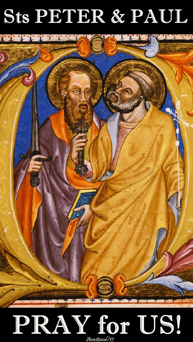 sts peter and paul no 4 - pray for us