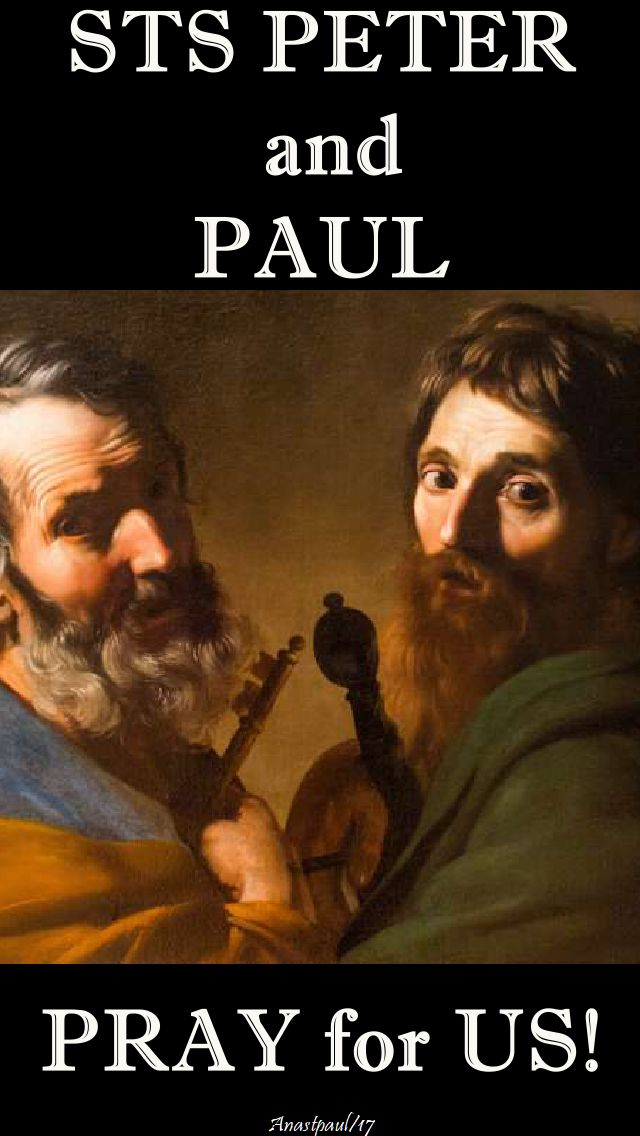 sts peter and paul pray for us - 18 nov 2017