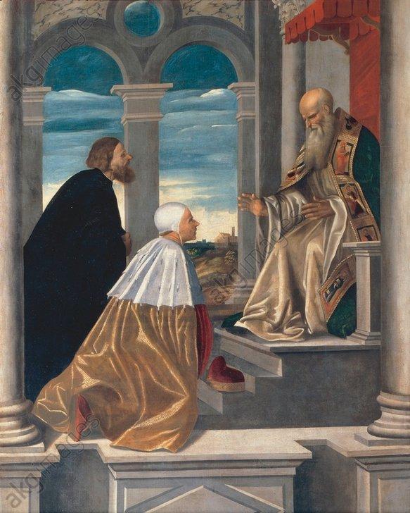 Giovanni da Brescia, Orseolo vor Romuald - Giovanni da Brescia, Orseolo and Romuald -