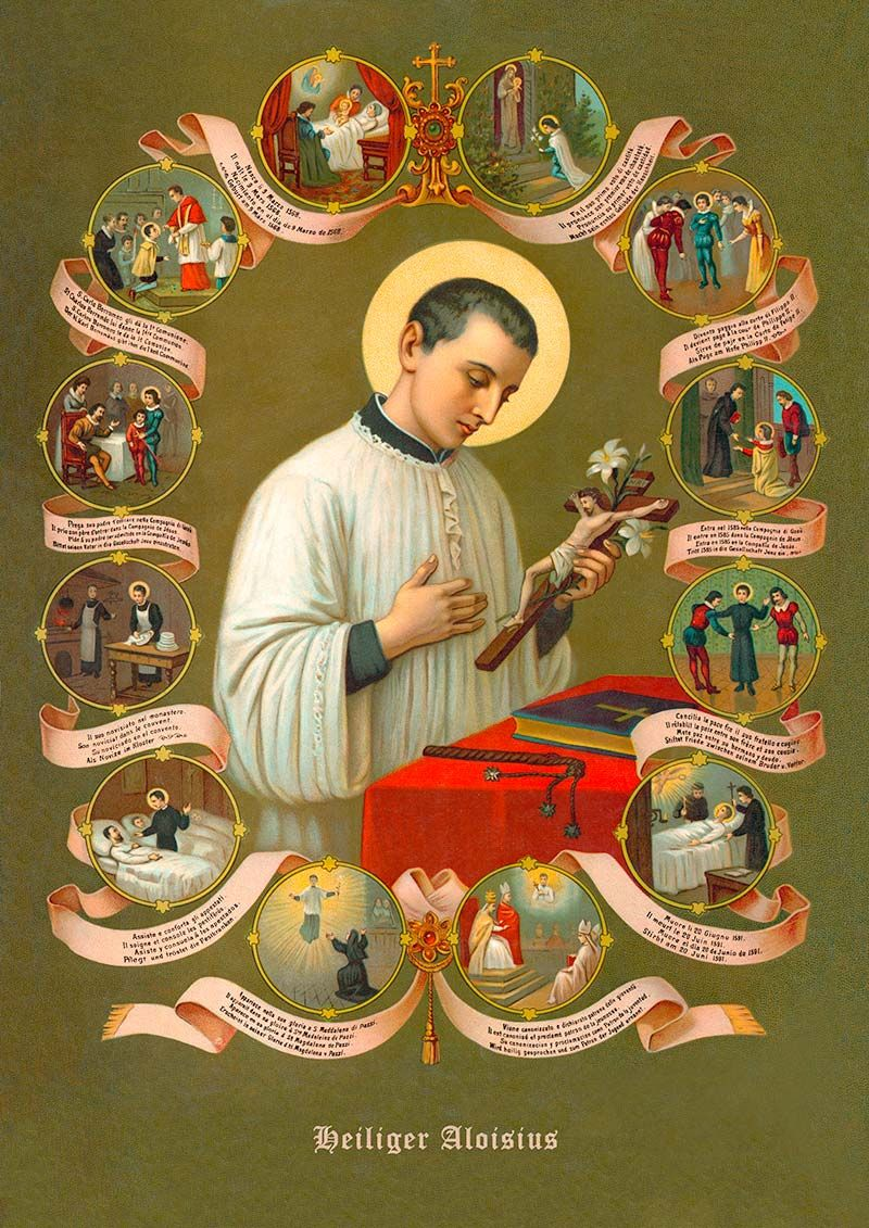 The Life and Miracles of St. Aloysius Gonzaga