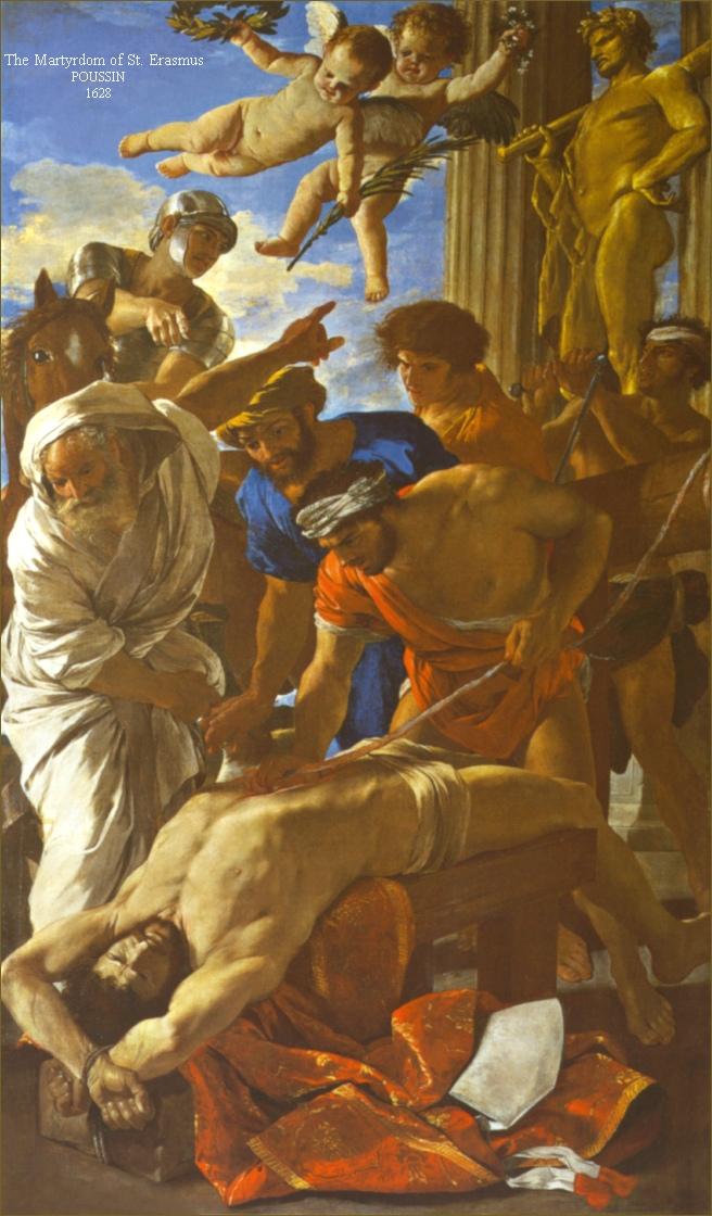 THE MARTYRDOM OF ST ERASMUS