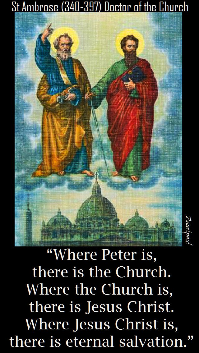 where-peter-is-2 - 29 june 2017 - st ambrose
