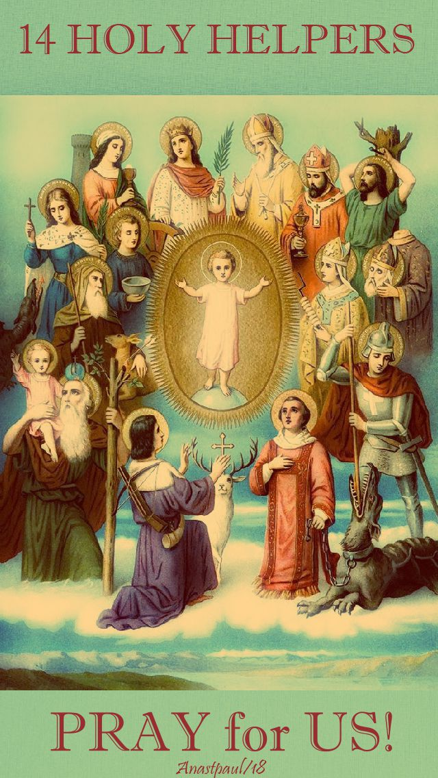 14 holy helpers - pay for us - 25 july 2018