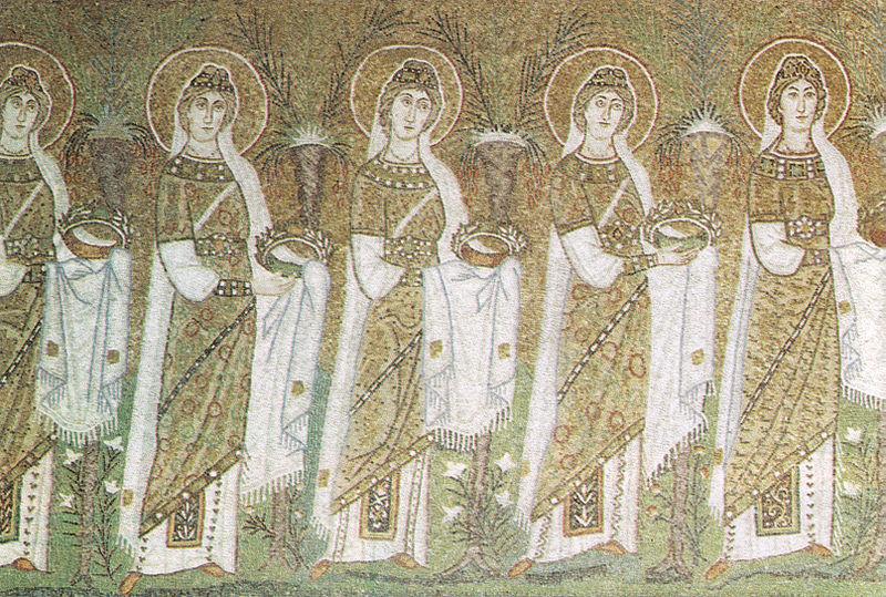 800px-Ravenna,_sant'apollinare_nuovo_Sante_Vergini_(seconda_metà_del_VI_secolo)