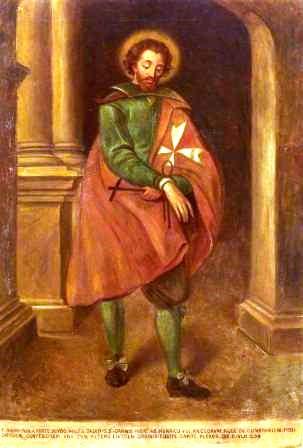 Adrian Fortescue, by Edward Caruna Dingli