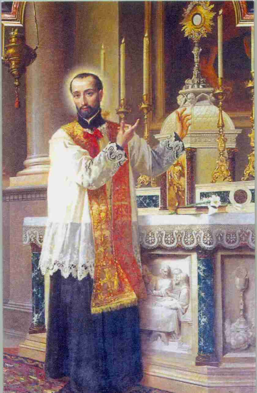 beautiful holy eucharist - st anthony mary zaccaria