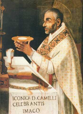 Camillus- saying mass