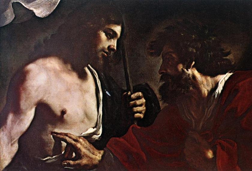 Header 2 Guercino - Doubting Thomas