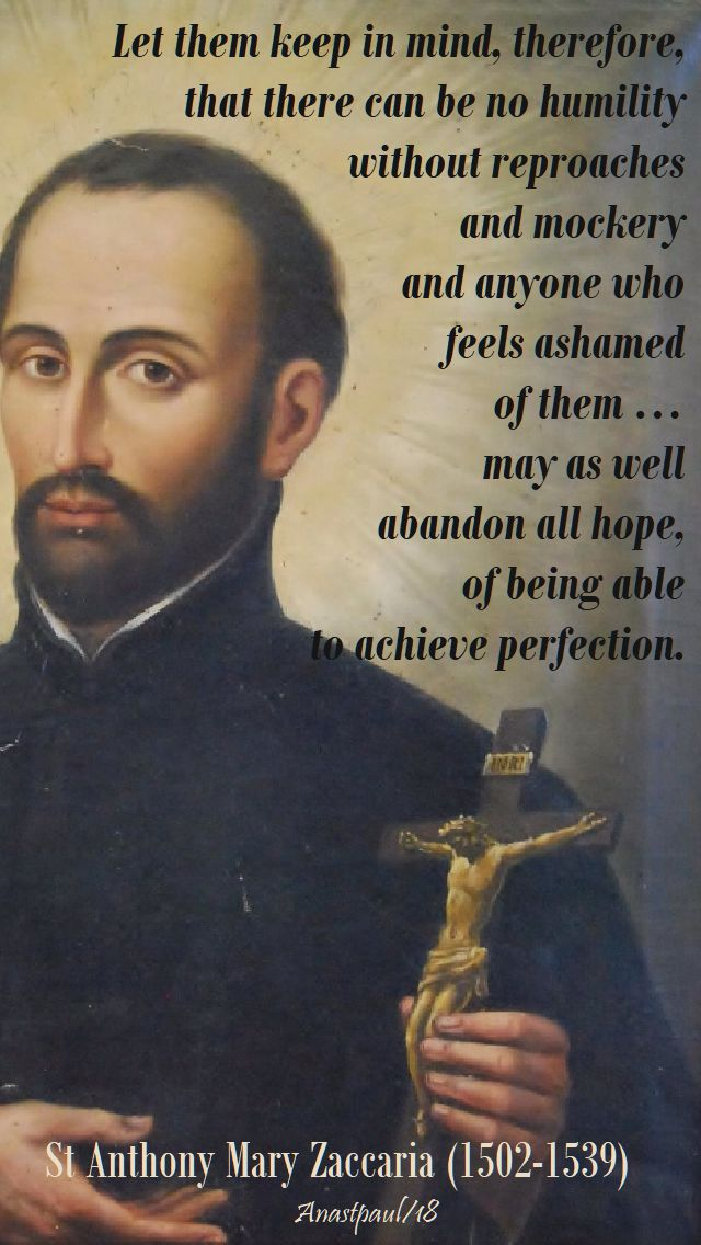 let them keep in mind - st a m zaccaria - 5 july 2018