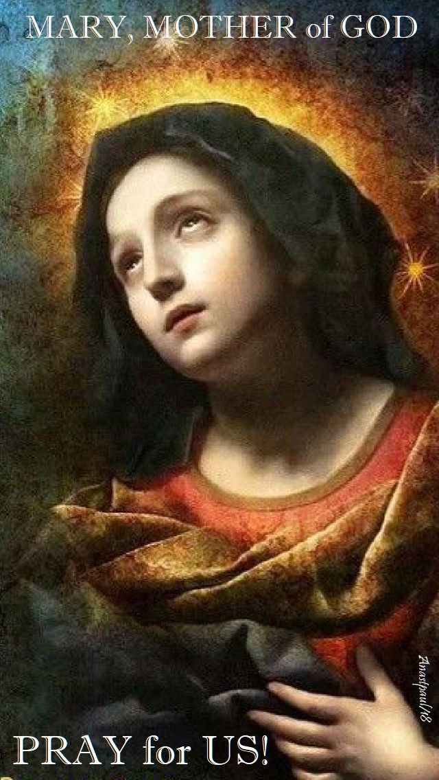 mary mother of god pray for us - 27 july 2018