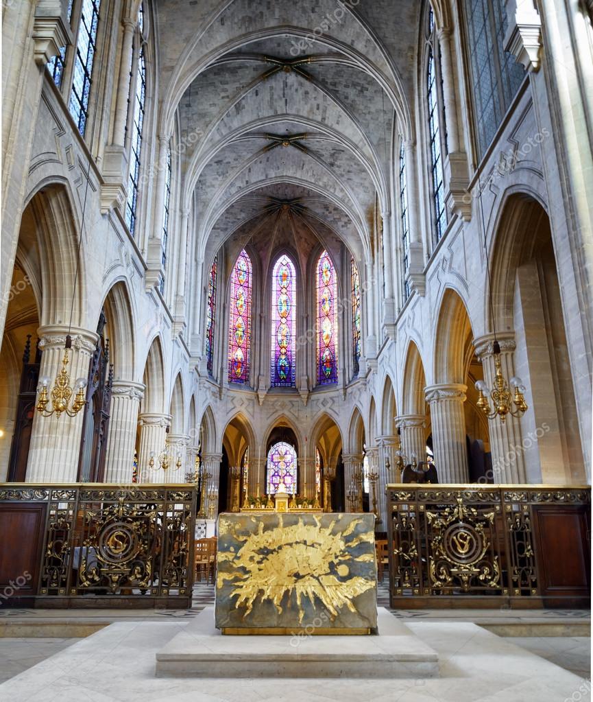Saint Germain of Auxerre in Paris, France