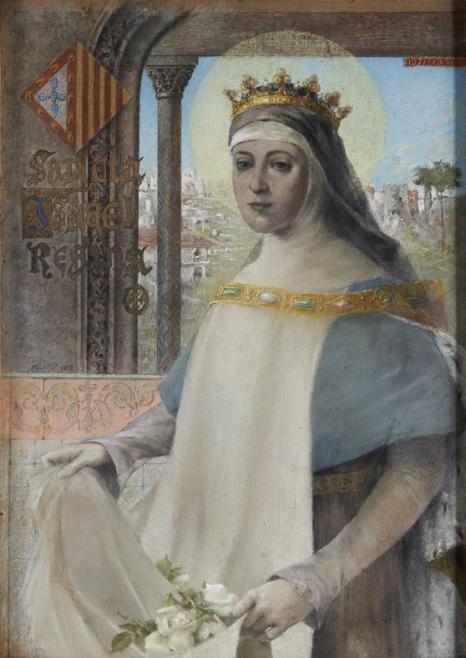 Sancta_Isabel_Regina_(1893)_-_Francisco_Vilaça