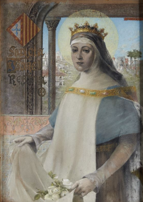 Sancta_Isabel_Regina_(1893)_-_Francisco_Vilaça