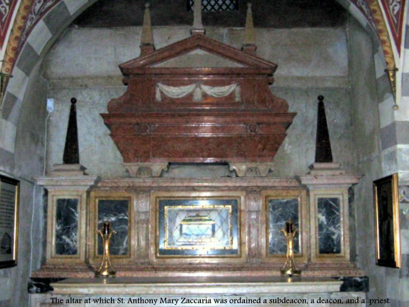 st anthony - ordination altar