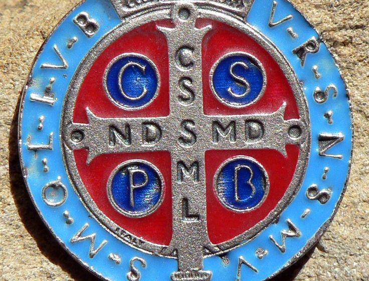 st benedict medal 2
