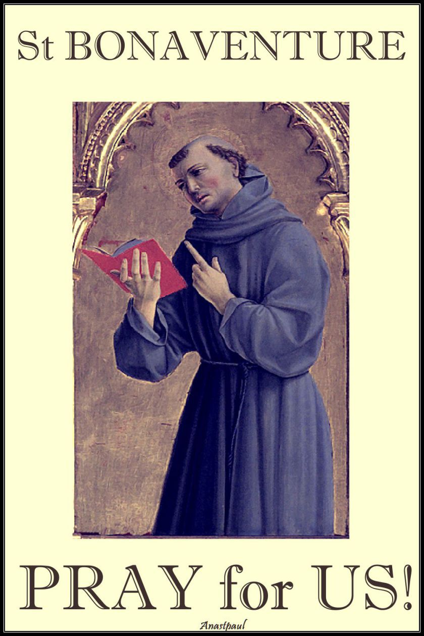 st-bonaventure-pray-for-us.15 july 2017