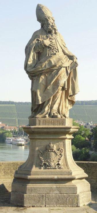 st frederick statue snip