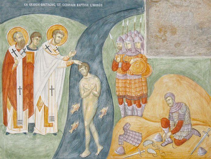 st germanus baptising