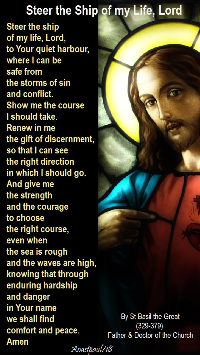 steer the ship of my life lord - st basil - 11 june 2018