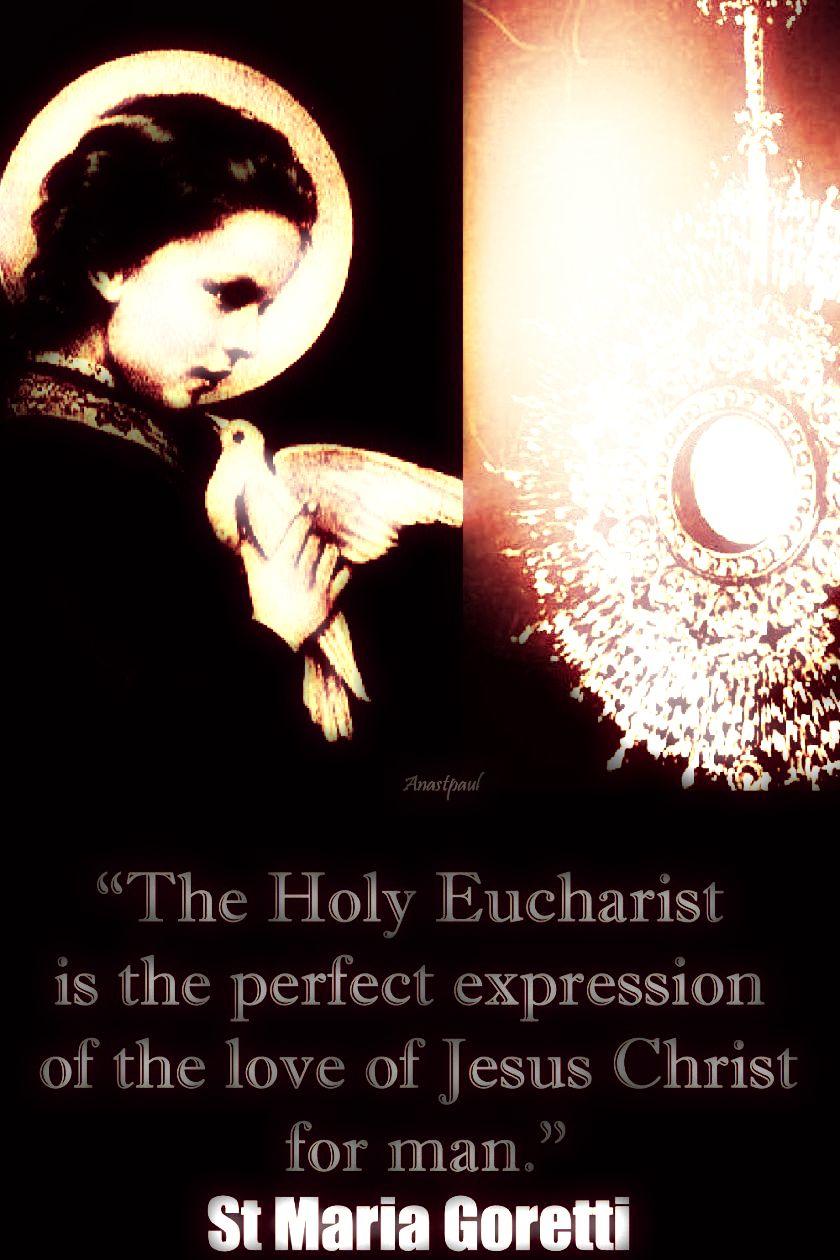 the-holy-eucharist-st-maria-goretti-6 july 2018